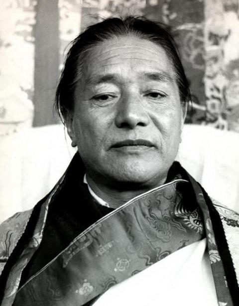 Kyabjé Dudjom Rinpoche, Jigdrel Yeshe Dorje(1904-1987)