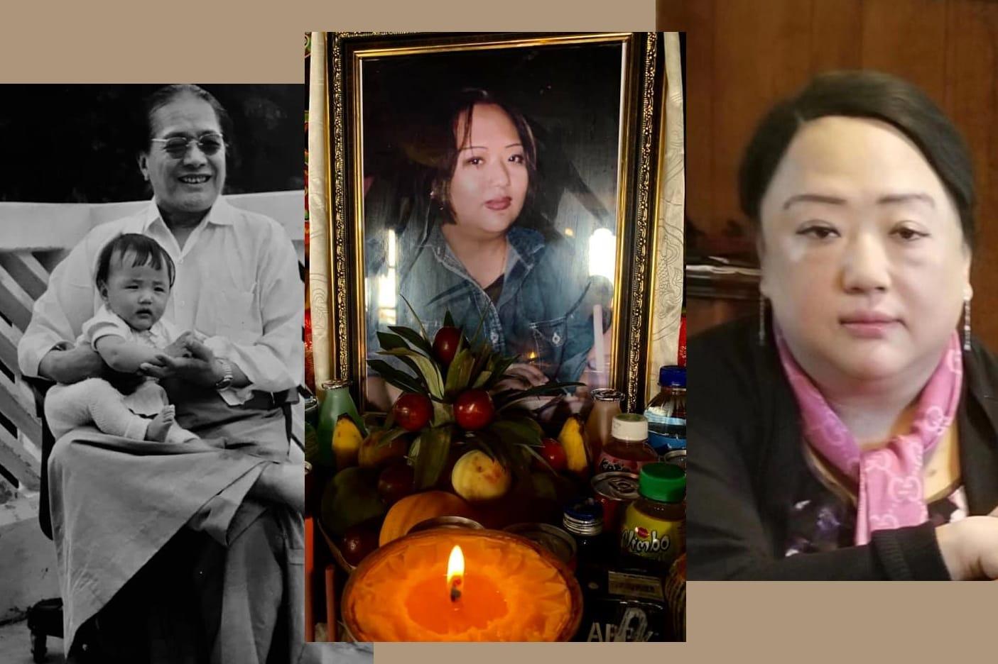 Parinirvana de Khandro Semo Lhanzey la