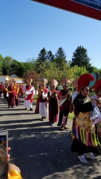 Cremation ceremony of Kyabjé Shenphen Dawa Rinpoche