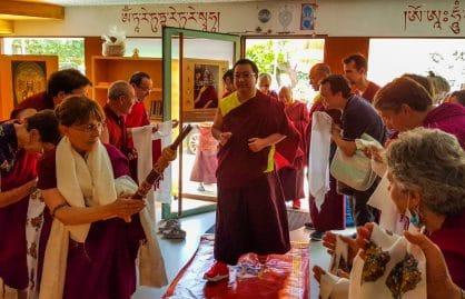 Kyabjé Dudjom Rinpoche Sangye Pema Shepa, Lleida
