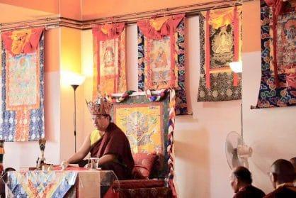 Kyabjé Dudjom Rinpoche Sangye Pema Shepa, Barcelona