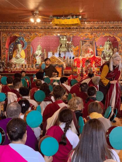 Mahaparinirvana Dechod of Kyabjé Shenphen Dawa Rinpoche