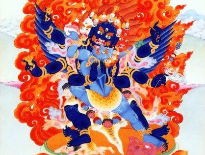 Dharmapala practice