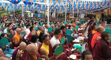 Participación en el 4º Dudjom Krodhikali Maha Ganachakra Puja en Nepal