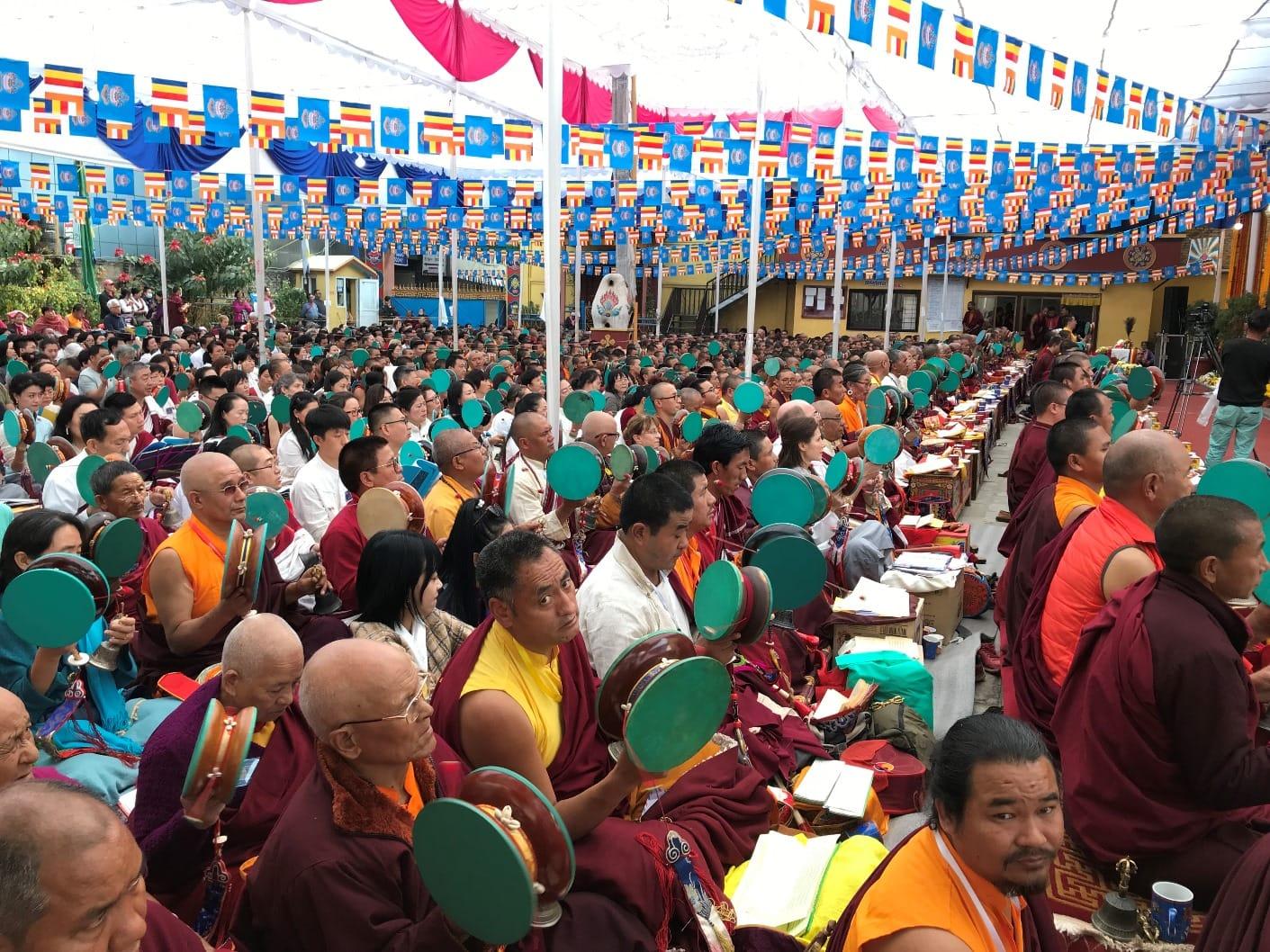 Participation in 4th Dudjom Krodhikali Maha Ganachakra Puja in Nepal