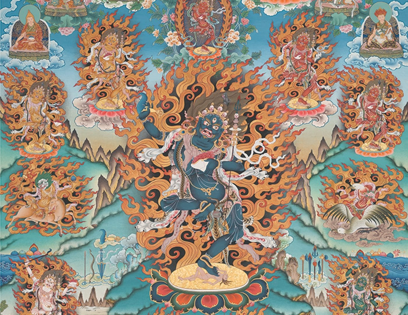 Práctica de T'röma en honor a Kyabjé Dungse Shenphen Dawa Norbu Rimpoché