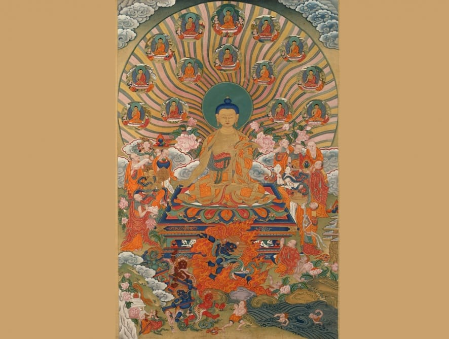 Tsog de Shakyamuni